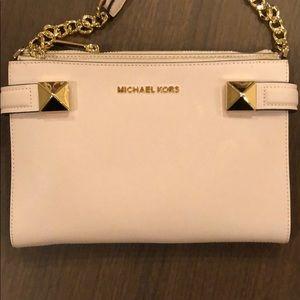 MK crossbody bag! Blush pink !! new!!